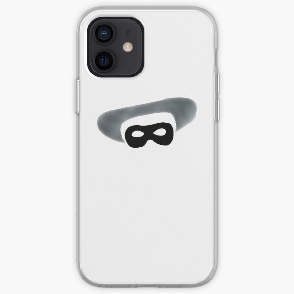 Who Is That Masked Phone? iPhone Soft Case