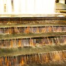 Golden Falls  by Allison  Flores