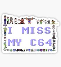 I miss my C64 Sticker