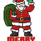 Merry Santa - V:IPixels Holiday Collection by Victor  Dandridge