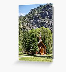 There's a Chapel in the Valley - In the Valley of My Dreams Greeting Card