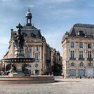 Place de la Bourse . by Irene  Burdell