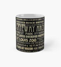 St. Louis Missouri Famous Landmarks Mug