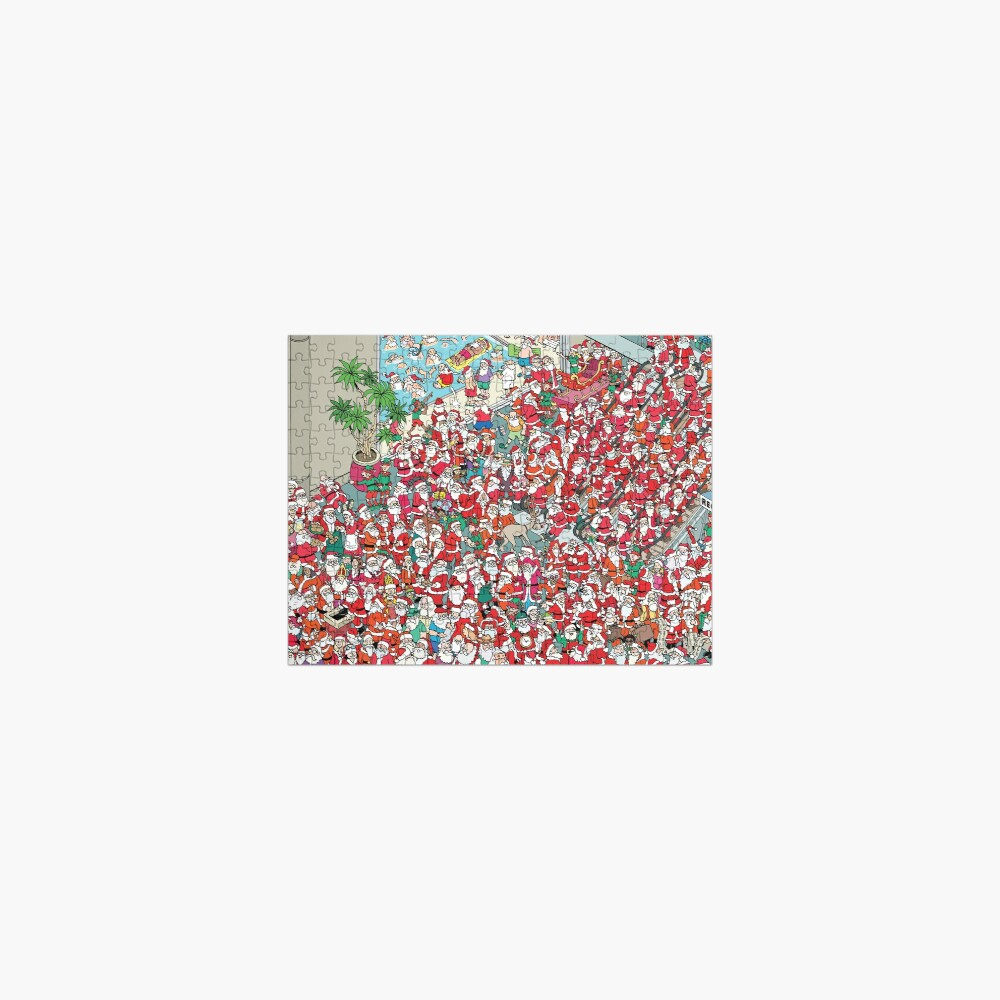 Santa Convention Jigsaw Puzzle