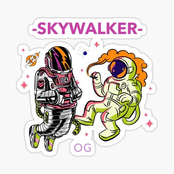 Cannabis Strain Skywalker OG Sticker