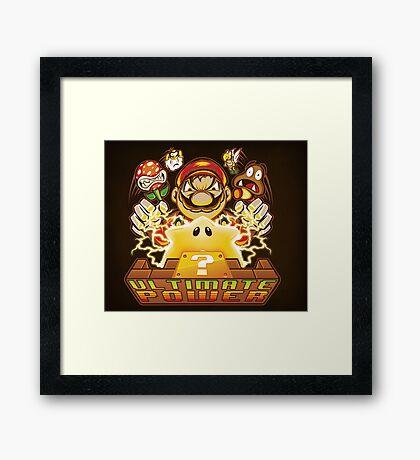 Ultimate Power - Print Framed Print