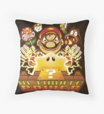 Ultimate Power - Print Throw Pillow