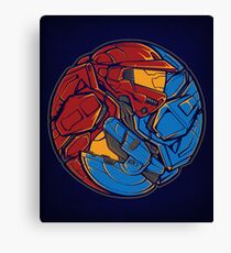 The Tao of RvB Canvas Print