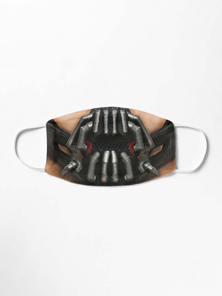 Bane Face Mask By Guttsaw Redbubble