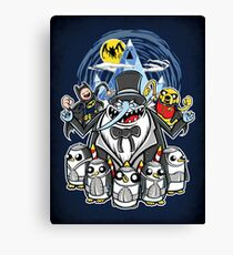 Penguin Time - Print Canvas Print