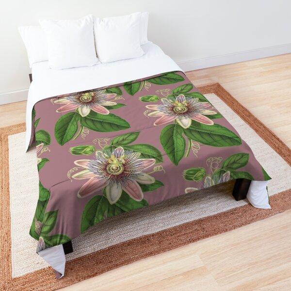 Passion Flower Comforter