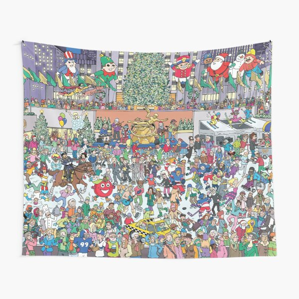 New York Holiday Tapestry