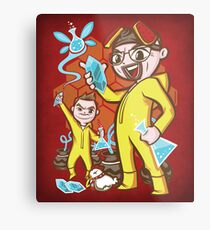 The Legend of Heisenberg - Print Metal Print