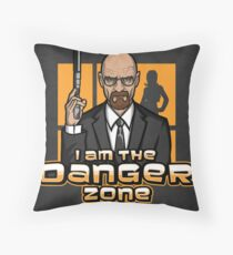 I am The Danger Zone - Print Throw Pillow