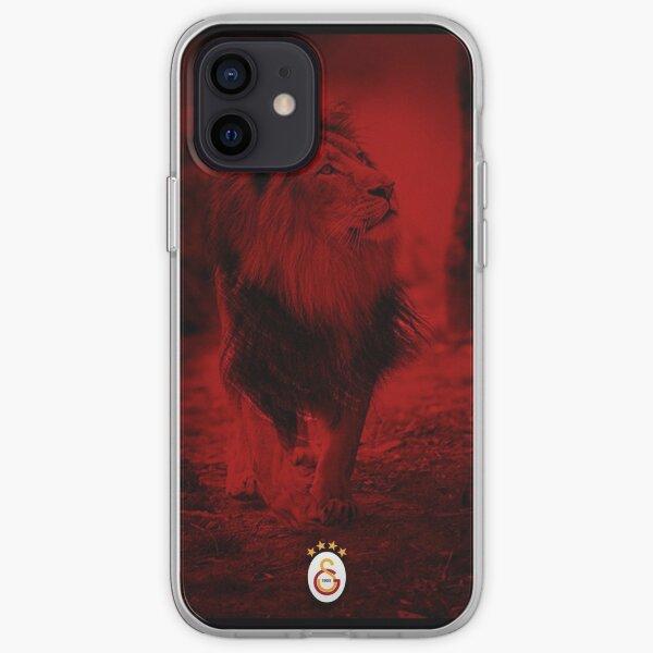 Lion rouge de Galatasaray Coque souple iPhone
