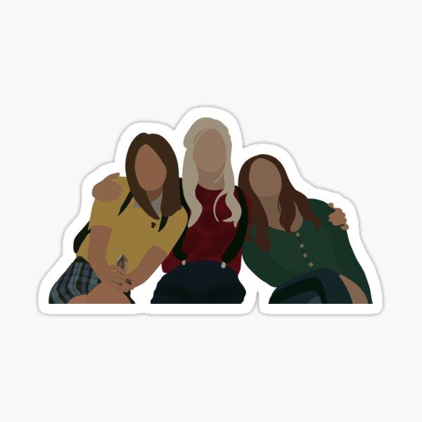 Josie Saltzman, Lizzie Saltzman y Hope Mikaelson Pegatina