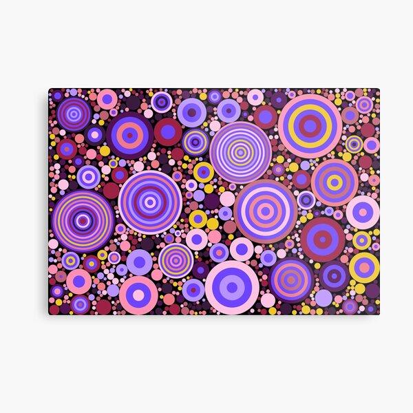 Flowering Certification (purples, pinks and yellows) Metal Print