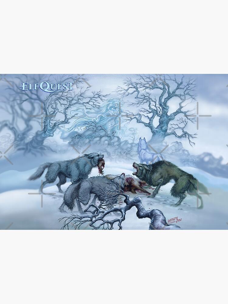 Elfquest Wolf Mother Timmain by elfquest