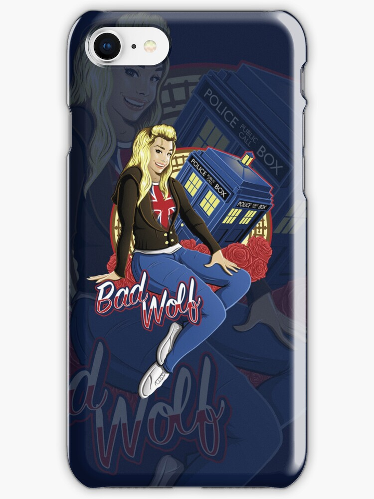 The Bad Wolf - Iphone Case #2 by TrulyEpic