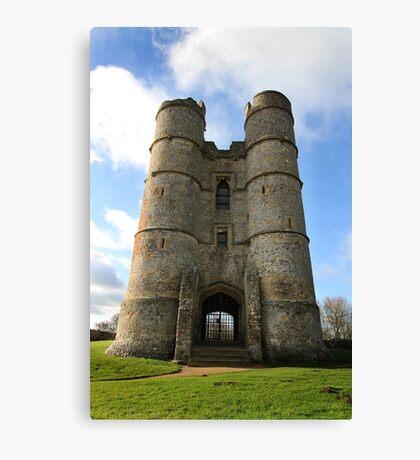 Donnington Castle Canvas Print