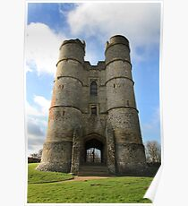 Donnington Castle Poster
