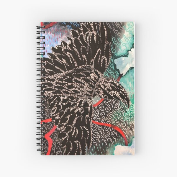 Crows in the Storm Spiral Notebook