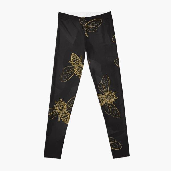 Mandala Bees Leggings