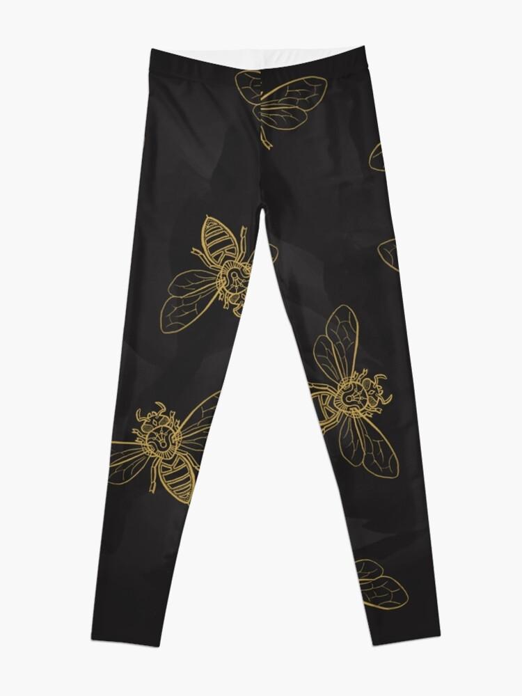 Alternate view of Mandala Bees Leggings