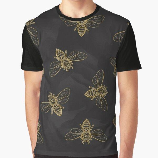 Mandala Bees Graphic T-Shirt