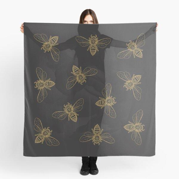 Mandala Bees Scarf