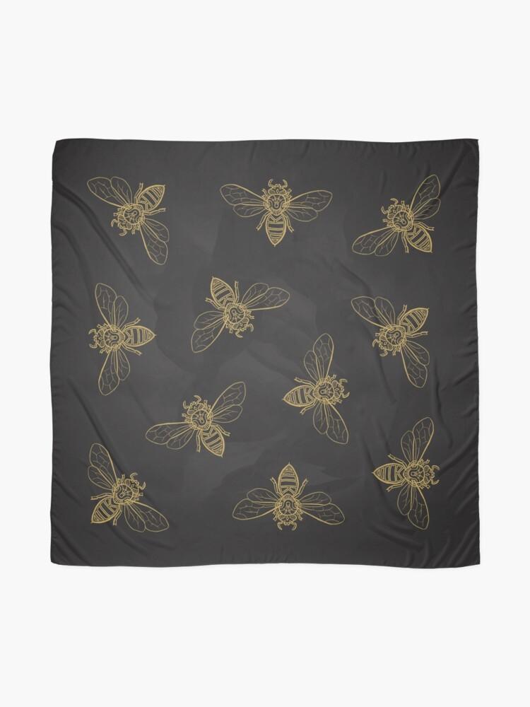 Alternate view of Mandala Bees Scarf