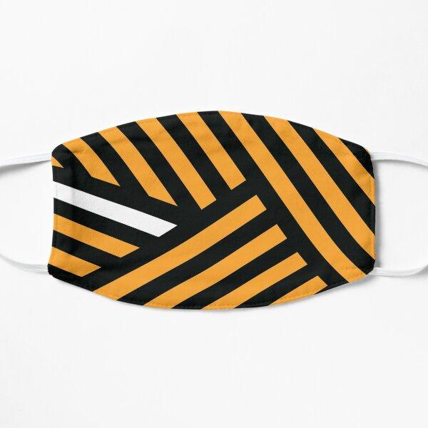 Dazzle Ship - White/Orange Mask