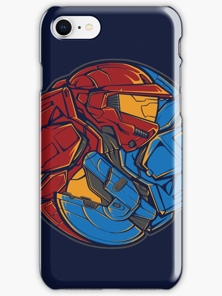 The Tao of RvB - Iphone Case #2 by TrulyEpic