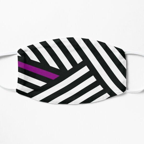 Dazzle Ship - Purple/White Mask