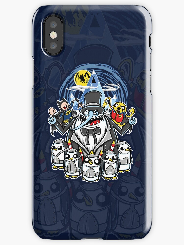 Penguin Time - Iphone Case #1 by TrulyEpic