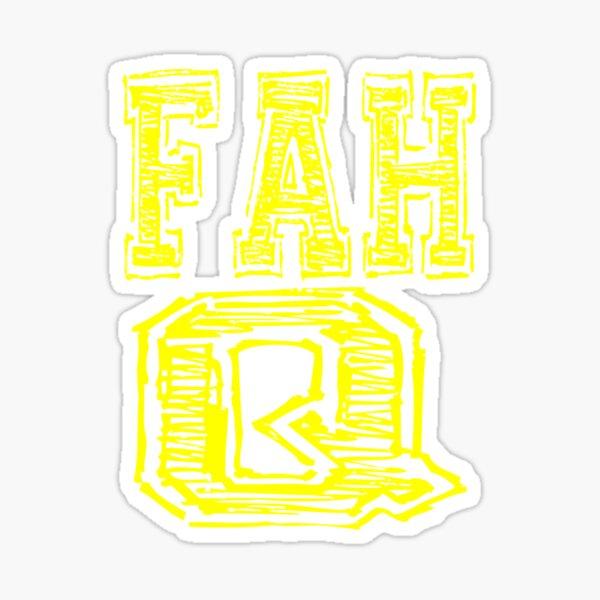 Fah Q Sticker