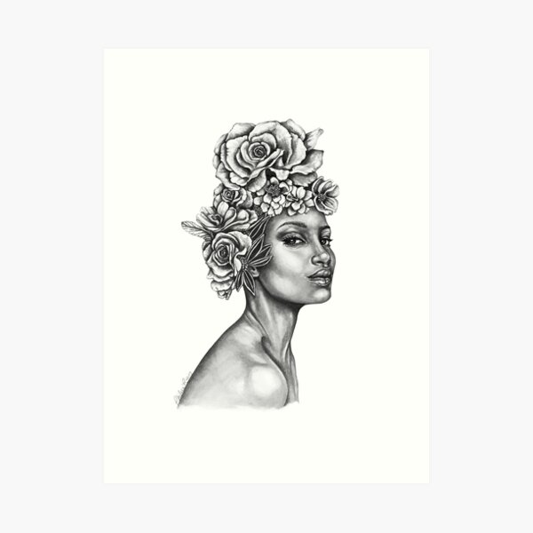 Full Bloom  | The Beauty Collection Art Print