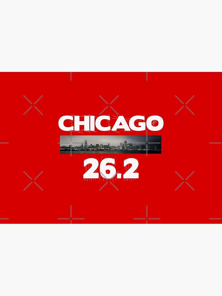 Chicago Illinois Run 26.2 miles  by STdesigns