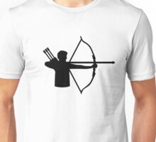 Archery player Unisex T-Shirt