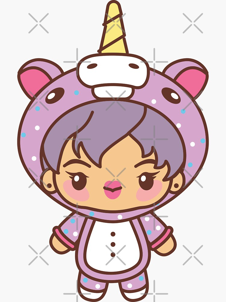 Jin Pajama Party - BTS Seokjin in PJ's ~BTS Pajama Party~ by MikaBees