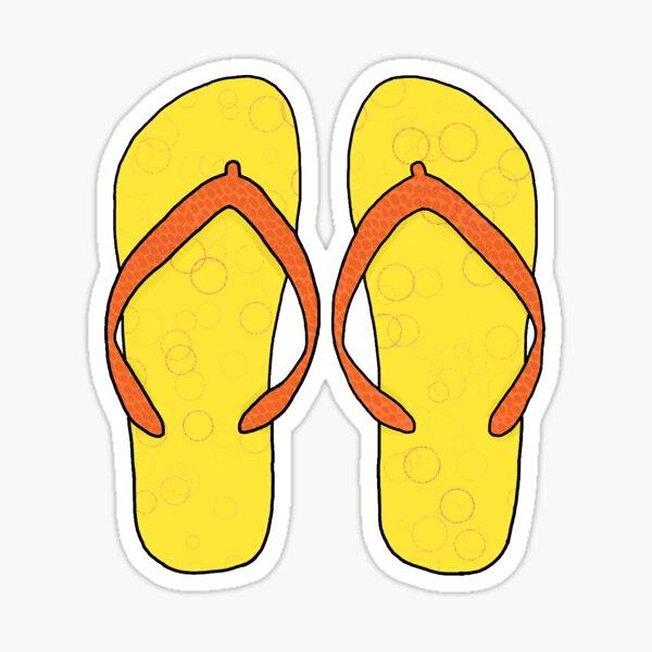 Summer Flip Flops Sticker