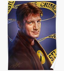 Nathan Fillion Poster
