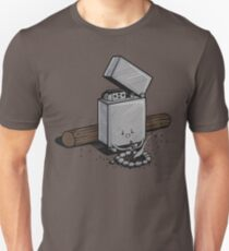Sin combustible Camiseta unisex