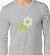 Polka Dot Daisy Long Sleeve T-Shirt