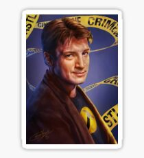 Nathan Fillion Sticker