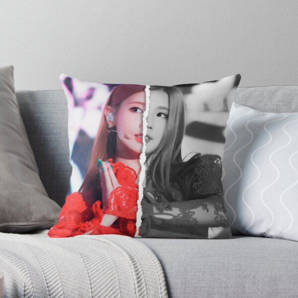 (G) I-DLE Miyeon (Divided Photo) Throw Pillow