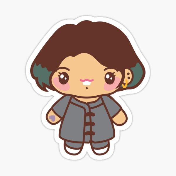 Jungkook Pajama Party - BTS JK in PJ's ~BTS Pajama Party~ Sticker