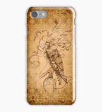 Breaking Free - The Harpy - Aged Lines iPhone Case/Skin