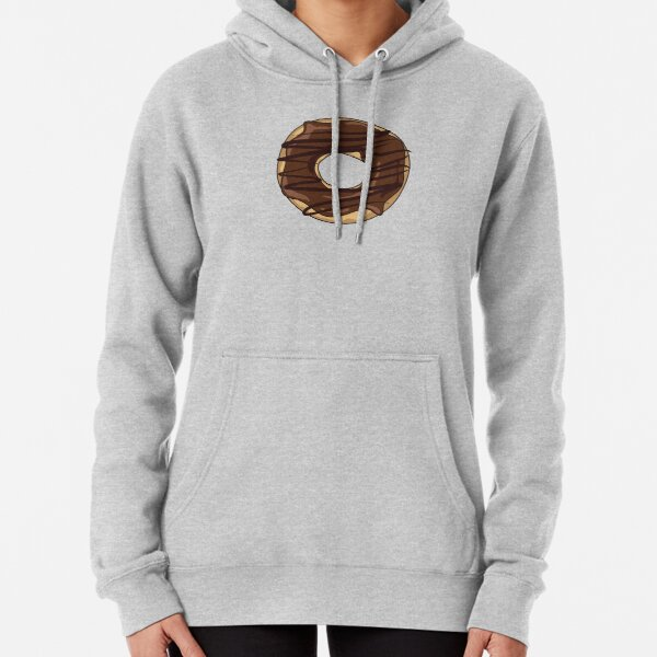 Chocolate Drizzle Donut Pullover Hoodie