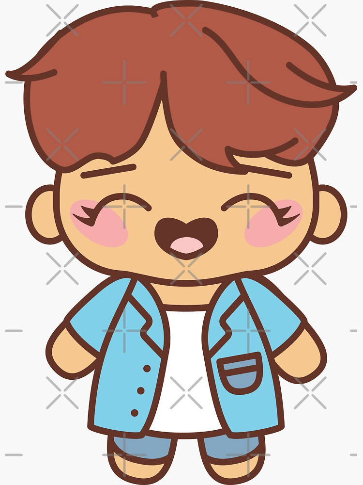 Hobi Pajama Party - BTS Hoseok / J-Hope in PJ's  ~BTS Pajama Party~ by MikaBees